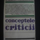 RENE WELLEK - CONCEPTELE CRITICII