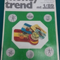 REVISTĂ NUMISMATICĂ/MONEY TREND NR. 1/1989/ TEXT LIMBA GERMANĂ