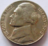 Moneda 5 Centi / Five Cents - SUA, anul 1978 *cod 3517, America de Nord