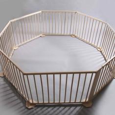 Tarc de joaca pentru copii si bebelusi din lemn masiv de Fag, de la producator