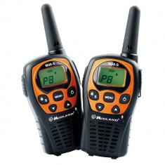 Resigilat : Statie radio PMR portabila Midland M48-S set cu 2bc Cod C1036