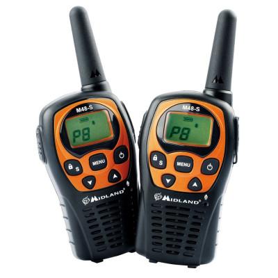 Resigilat : Statie radio PMR portabila Midland M48-S set cu 2bc Cod C1036 foto