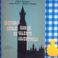 Dictionar Altele englez-roman de valente adjectivale Felicia Burdescu