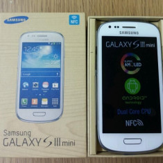 SAMSUNG GALAXY S3 MINI MODEL I8190 / ALB / NOU - Telefon mobil Samsung Galaxy S3 Mini