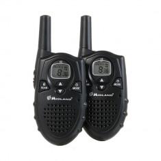 Resigilat : Statie radio PMR Midland G5, set 2 bucati, Cod C735.06