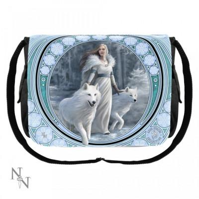 Geantă de umăr cu lupi Gardienii Iernii foto