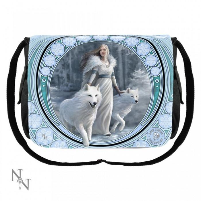 Geantă de umăr cu lupi Gardienii Iernii foto mare
