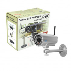Resigilat : Camera cu IP PNI IP951W de exterior P2P wireless - Camera CCTV