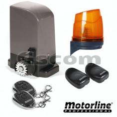 Kit automatizare poarta culisanta 500KG - MOTORLINE - Modul
