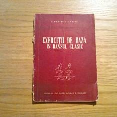 EXERCITII DE BAZA IN DANSUL CLASIC - E. Magyar, B. Havas - Editura de Stat, 1957 - Carte Arta dansului