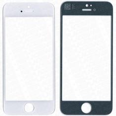 Ecran iPhone 5s alb geam - Geam carcasa