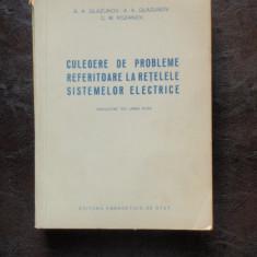 CULEGERE DE PROBLEME REFERITOARE LA RETELELE SISTEMELOR ELECTRICE
