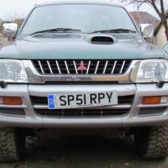Mitsubishi L200 4x4, 2.5 Turbo Diesel, an 2002, Motorina/Diesel, 92000 km, 2477 cmc