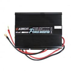 Aproape nou: Invertor de tensiune Albrecht A301M 600W 12V Cod 47867 - Invertor Auto