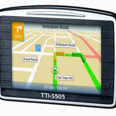 Resigilat : Sistem de navigatie GPS TTI S505 Cod S505