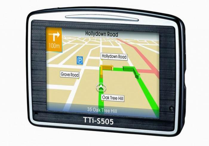 Resigilat : Sistem de navigatie GPS TTI S505 Cod S505 foto mare