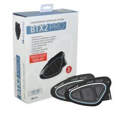 Aproape nou: Sistem comunicare moto Midland BTX2 PRO Cod C1231.01 twin pack