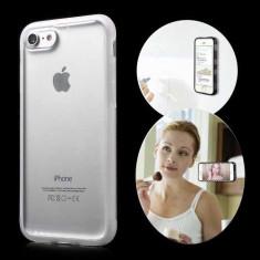 Husa iPhone 7 Stick Surface Transparenta - Sticker Telefon