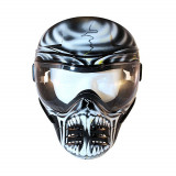 Aproape nou: Masca protectie Save Phace Airsoft - Paintball model WAR LORD cod C10