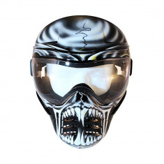 Aproape nou: Masca protectie Save Phace Airsoft - Paintball model WAR LORD cod C10 - Echipament paintball