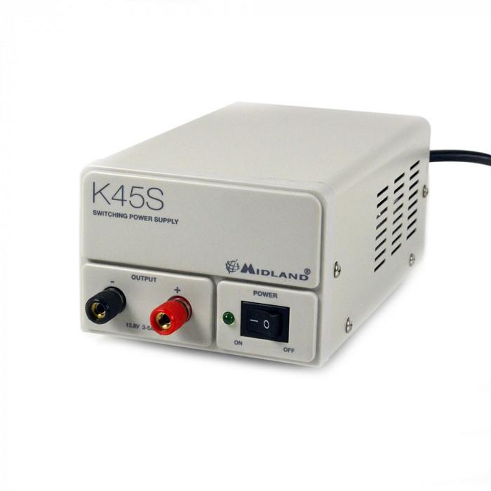 Resigilat : Sursa tensiune Midland K45S 220V-12V Cod C1024