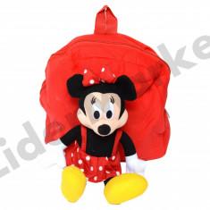 Rucsac cu papusa Minnie Mouse pentru copii