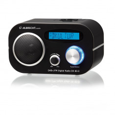 Aproape nou: Radio digital DAB si FM Albrecht DR 80-D 220V/baterii Cod 27391 - Media player