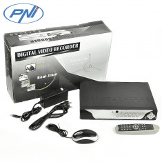 Resigilat : DVR cu 4 canale model PNI House 2104 H.264 HD-SD - Camera CCTV