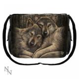 Geantă de umăr cu lupi Prieteni loiali - Gentuta Copii