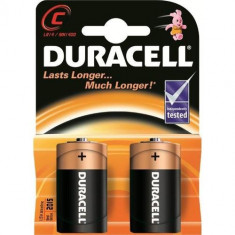 Aproape nou: Baterie Duracell R14 cod 75015739 2 buc