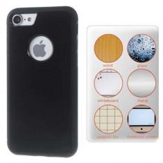 Husa iPhone 7 Stick Surface Neagra - Sticker Telefon