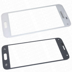 Ecran Samsung Galaxy s5 mini SM-G800F alb geam - Geam carcasa
