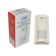 Aproape nou: Detector de miscare PNI 602 cu fir si detector de geam spart incorpora