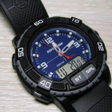 Ceas TIMEX Digital Expedition indiglo Original WR-200m NOU - Ceas barbatesc Timex, Sport, Quartz, Cauciuc, Alarma, Analog & digital