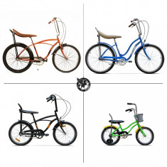 Pachet NOTE BUNE - Pegas pentru familia ta! - Bicicleta de oras