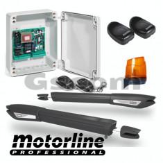 Kit automatizare poarta batanta 2x5m -MOTORLINE - Modul