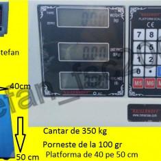 Cantar electronic cu platforma 350kg - Cantar comercial