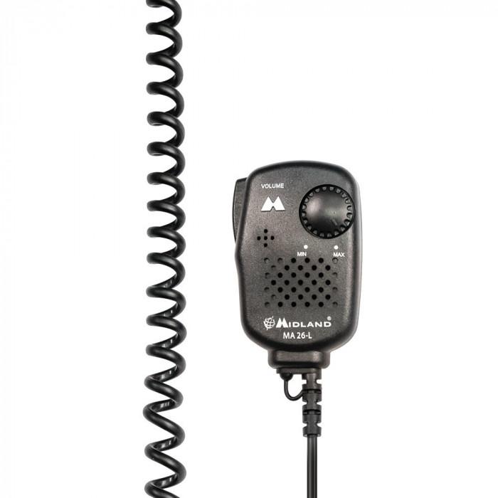 Aproape nou: Microfon cu difuzor Midland MA26-L Cod C515.01 foto mare