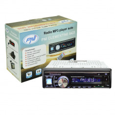 Aproape nou: Radio MP3 player auto PNI Clementine 8425 4x45w 1 DIN cu SD, USB, AUX, - CD Player MP3 auto