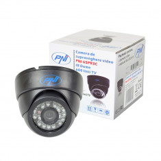 Resigilat : Camera de supraveghere video PNI 65PR3C IR Dome cu 600 linii TV - Camera CCTV