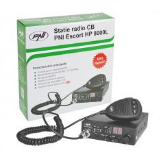 Aproape nou: Statie radio CB PNI Escort HP 8000L cu ASQ reglabil, 12V, 4W, Lock, mu