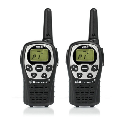 Resigilat : Statie radio PMR portabila Midland M99-S set cu 2bc Cod C1037 foto