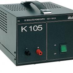 Resigilat : Sursa tensiune Midland K105 220V - 12V (12A ) Cod T670