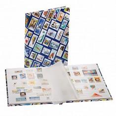 Leuchtturm Hobby - clasoar pentru timbre - 8 foi alba