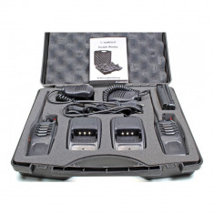 Aproape nou: Statie radio PMR portabila Albrecht Tectalk Worker set cu 2buc Cod 298