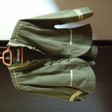 Vand jacheta Sfera M kaki cu detelii aurii