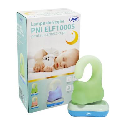 Resigilat : Lampa de veghe PNI ELF1000S pentru camera copii foto
