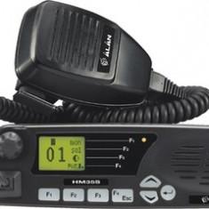 Resigilat : Statie radio VHF Midland Alan HM135S cu 5 tonuri pt TAXI, 135 - 174 Mh