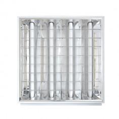 Resigilat : Plafoniera incastrabila 4x18W / 60x60cm - Corp de iluminat, Plafoniere