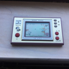 Consola Nintendo Snoopy Tennis Game & Watch Made in Japan 1982